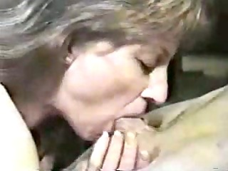 dick sucking from sexy elderly woman.