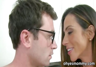 lewd stepmom copulates her stepgirls bf