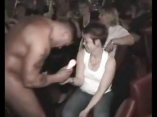 cfnm gathering with desperate mature babes