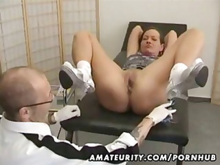 cougar fresh lady goes for a checkup and obtains