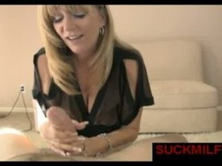 mature babe licks penis and gulps the whole