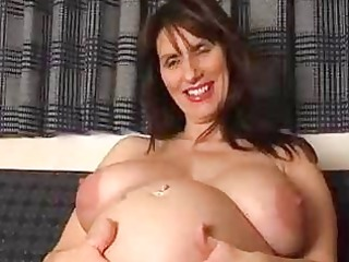 pregnant inexperienced milf spreads her gaping