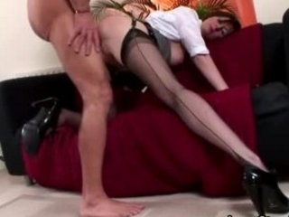 older  nylons seduction drilling