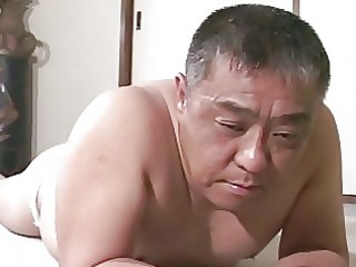 grownup asian man acquires spanking