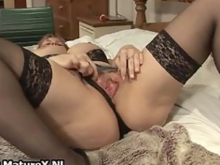 horny mature housewife into gorgeous panties