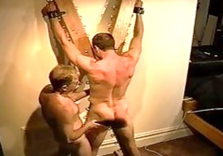 giant bodybuilders muscle gazoo receives an wazoo