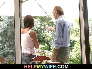 inexperienced housewife cucks inside countryhouse