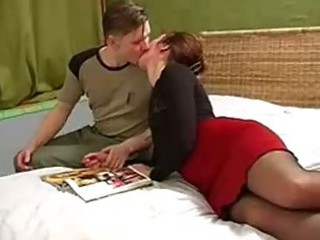 unknown beautyful russian cougar and male