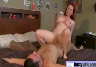 hot hawt large tits mama receive hardcore group