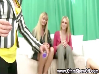 cfnm boy sucked and pierced by dominant angel in