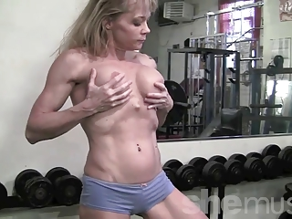 older  muscle inside the gym