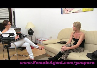 femaleagent. lets stroke jointly