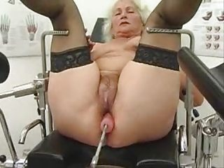 old norma works out on a fuck mechanism