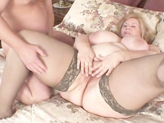bbw lady ass love and fist