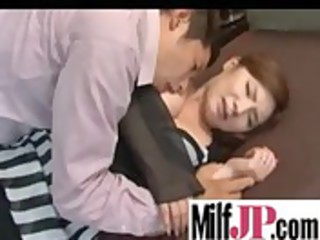 hot japanese milfs taking unmerciful drill clip30