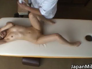 eastern  woman has massage and drilling part6