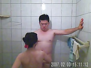 videotaping my wife and i have porn in the shower