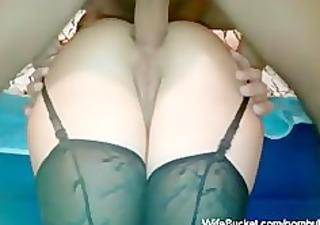 anal sex in nylons