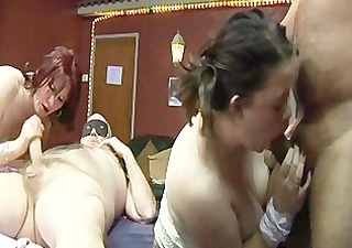 uk dilettante group sex party in a swingers club