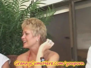 elderly has a xxx swingers celebration and bottom