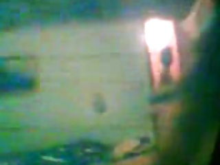 a real(!)spy cam video from lady aunt after bath