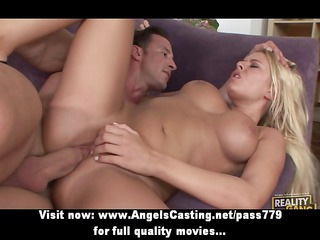 swinger foursome with blond sex partners banged