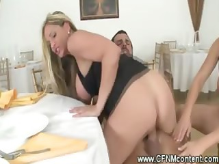 cfnm milfs have a penis riding orgy