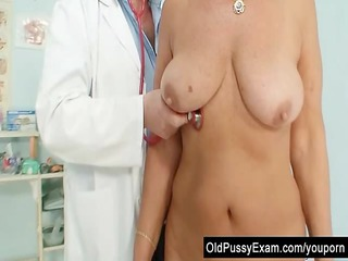awesome naughty granny bossom and pussy gyno
