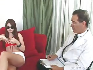 public 3some with lady and daughter