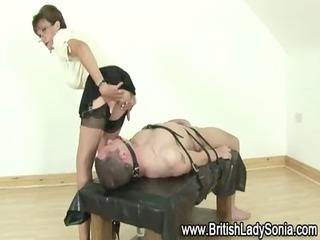 cougar femdom bondage blowjob