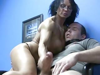 big breast milf handjob