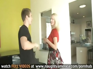 wonderful blonde woman emma starr bangs a amateur