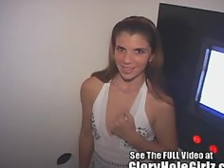 hot amateur sweetheart woman blowing strange