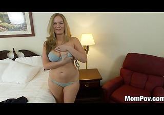curvy natural bazookas amateur mom drilled