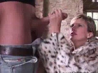posh european cougar bitch