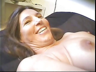 bushy amateur older  has unmerciful porn