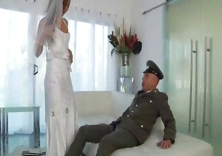 young latin chick bride one final fuck