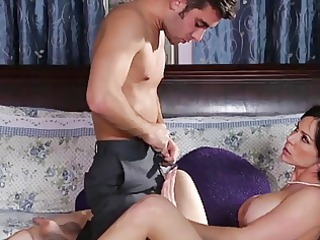 milf drilled with her daughter bf,by blondelover.
