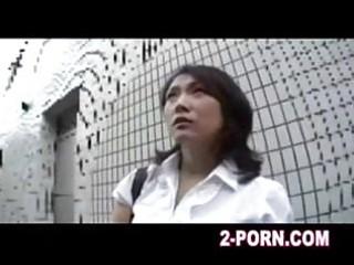 milf has a sperm thailand massage