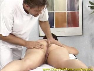 plump lady likes a massage