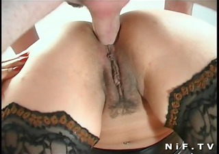 dilettante french swingers doing anal sex