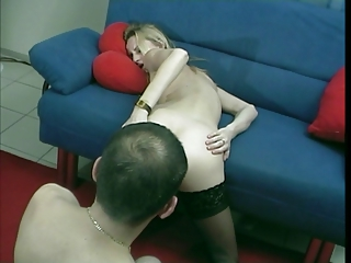 german little albino lady young bottom