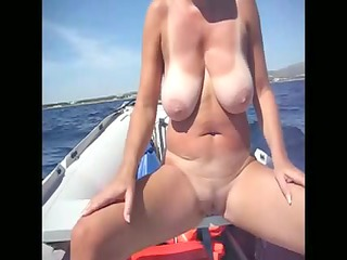 amateur seaside voyeur giant tits lady