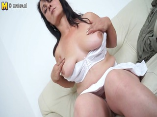 hawt mother masturbating while this lady is all