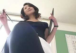 a hot teacher with panty stokings