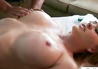 busty golden-haired floozy massage.p2