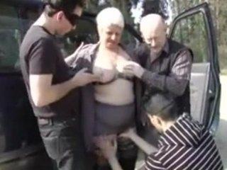 murielle, granny heavy older