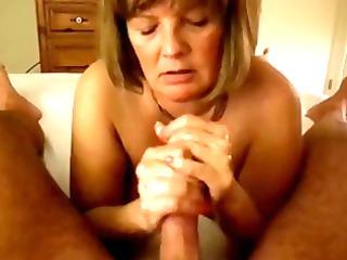 mature handjob ypp