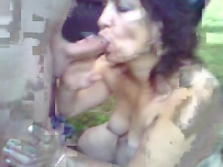 my maiden licking my cock