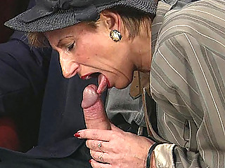 doggy fuck with granny lady